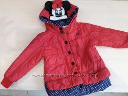Курточка с Микки в идеальном состоянии