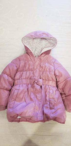 Курточка для принцессы на 2 года