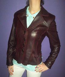 Продам Кожаную Куртку-пиджак YiLuQi