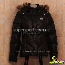 Куртка пуховик Adidas Fitted Jacket, оригинал V31588