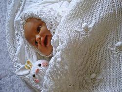 Плед для новорожденного В ожидании Чуда