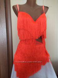 Очень красивое платье для бальных танцев латина