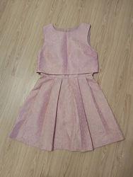 Красивое, нарядное платье жакард Miss Selfridge