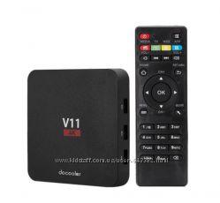 Smart TV Box Docooler V11 ОЗУ 2Gb Android 6. 0 тв приставка новая