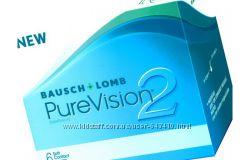 Пур Вижн, Pure Vision, Baush&Lomb контактные линзы