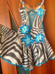 Платье латина камни  Swarovski для бальных танцев
