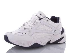 Женские кроссовки Restime кожаные белые