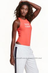Идеальные майки и боди для спорта H&M, Reebok, Old navy