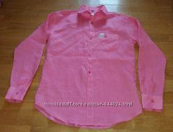 Льняная рубашка Linen club  XL