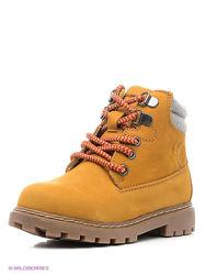 Демисезонные кожаные стильные ботинки сапожки MAYORAL 32 размер.