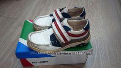 Туфли-мокасины демисезон MINIMEN для мальчика р. 28, 19 см