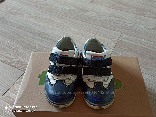 Туфли-мокасины демисезон для мальч р. 28 cтелька 17,5 см