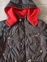 Куртка демисезонная осень мальчик GRACE рост 140 на 7-8 лет
