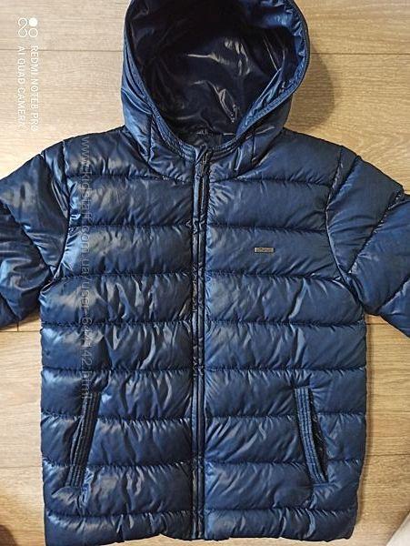 Куртка демисезонная зимняя еврозима  Mayoral на рост 134, 7-9 лет, мальчик
