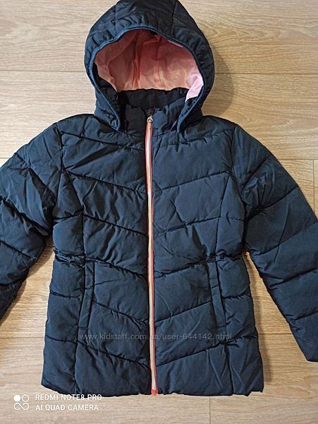 Зимняя куртка р.152 на 12 лет девочка Name it