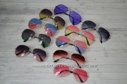 Солнцезащитные очки капли авиаторы цветные