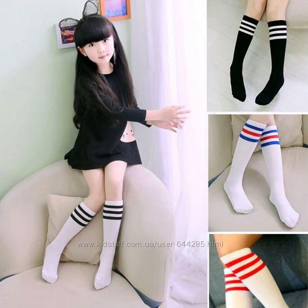 Гольфы, высокие носки, гетры для девочки от 2 лет