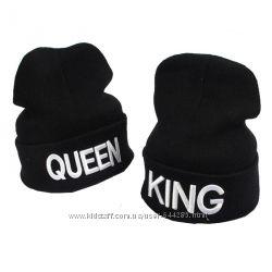 230грн Шапка молодёжная QVEEN & KING Король и Королева