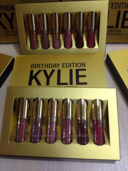 Помады Kylie Matte Liquid Lipstick