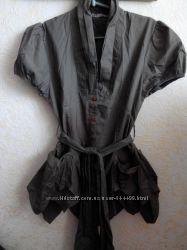 блуза хаки бренд yeatis