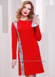 Красное платье от fashion up