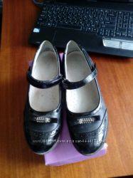 Туфли на девочку моднячие кожа Тоm. М