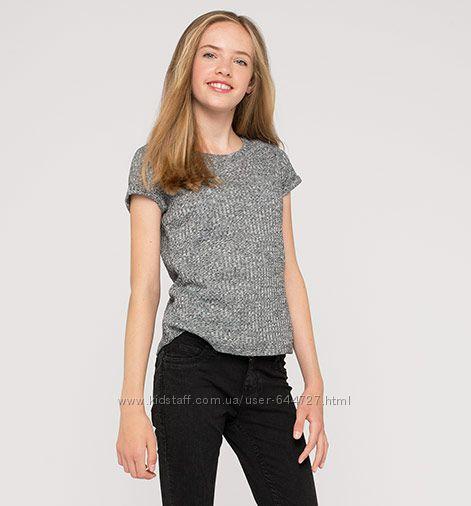 Новые футболки c&a для девочек, p. 134-140, 158-164