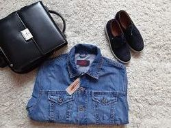 Джинсовая куртка Ustop M типа Levis Wrangler. Мужская новая