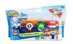 Набор Супер крылья, Джетт и его друзья, Самолеты-Трансформеры Super Wings
