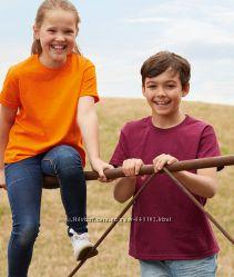 Детская футболка от 3-15 лет Fruit of the loom, футболки детские