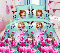 Детское постельное принцесса София