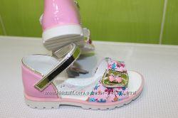 Красивые нарядные босоножки для девочки Y-Top, размер 25-16 см
