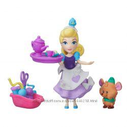 Кукла Принцессы Дисней Золушка и Гас Маленькое королевство. Оригинал Hasbro