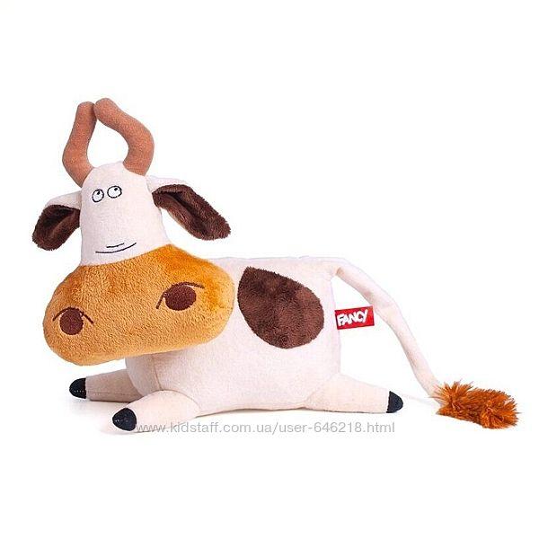 Мягкая игрушка Корова Фаня 25 см. Оригинал Fancy NKF0