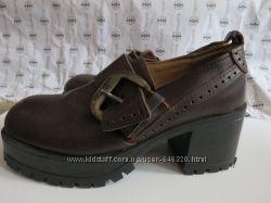 Туфли на стильной подошве, р. 40