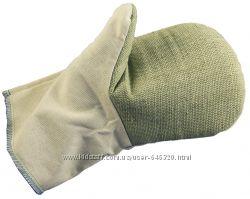 Рабочие рукавицы хб и брезент