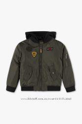 Весенняя куртка-бомпер на мальчика от C&A, Германия, в нал. р. 110