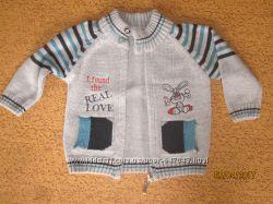 Джемперок для мальчика 1-2года.