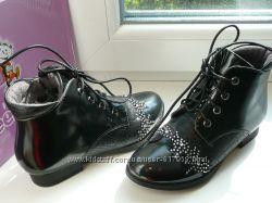Стильные  ботиночки 32, 34р наличие