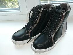 Высокие деми ботинки 34р стелька 21, 5см