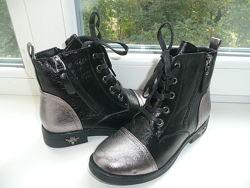 Ботинки деми с 32 по 37 разм