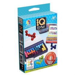 SG 423 UKR Smart Games IQ Бум. Дорожная игра. Курьер бесплатно. Укрпочта