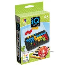 SG 488  UKR Smart Games IQ Твист. Дорожная игра. Курьер бесплатно