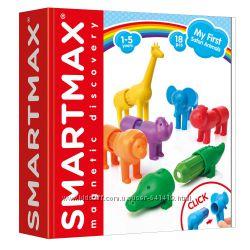 SMX 220 Smart Games. Магнитный конструктор Smartmax Мои первые дикие животн