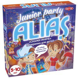 Новинка54670 Tactic Junior Party Alias Элиас Пати Юниор. Курьер. Укрпочта.