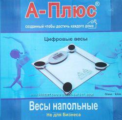 Напольные электронные весы А-Плюс до 150 кг