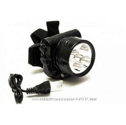 Налобный аккумуляторный фонарик YJ-1829-1