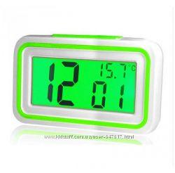 Говорящие настольные часы Kk-9905tr с подсветкой