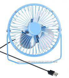 Настольный Usb вентилятор металлический корпус, диаметр 135мм