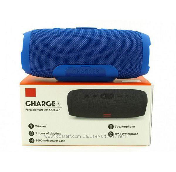 Портативная колонка Charge 3 с bluetooth